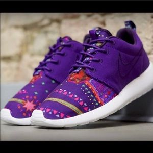 Nike Purple Roshe Run Sneaker